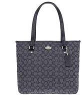 Coach Ava II Signature Leather Jacquard Smoke Top Handle Tote Shoulder Bag