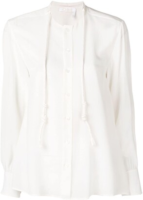 Chloé Drawstring Detail Blouse