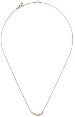Astley Clarke 14kt yellow gold Icon Scala diamond necklace
