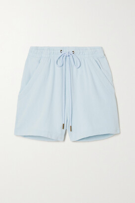 Citizens of Humanity - Olympia Cotton-fleece Shorts - Green