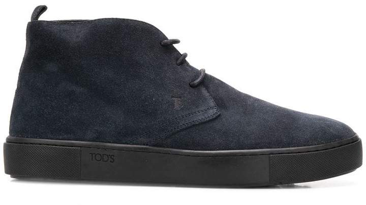 Tod's lace-up booties