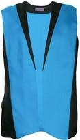 Ungaro Pre Owned two tone sleeveless jacket