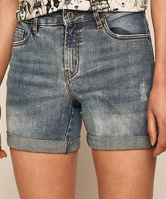medicine Women's Casual Shorts blue - Blue Denim Shorts - Women