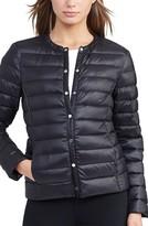 Lauren Ralph Lauren Women's Packable Quilted Collarless Down Jacket