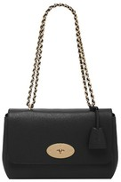Mulberry Medium Lily Glossy Leather Crossbody Clutch - Black