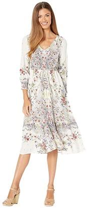 Lucky Brand Felicity Dress (Natural Multi) Women's Dress