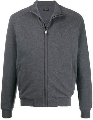 Ermenegildo Zegna zip front sweatshirt