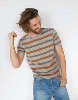 Fat Face Multi Stripe Crew Neck T-Shirt