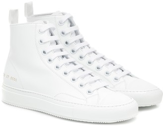 Common Projects Tournament High leather sneakers