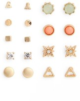 BP Women's 9-Pack Geo Stud Earrings