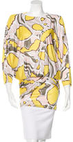 Emilio Pucci Printed Open Back Tunic