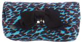 Lanvin Leopard Print Clutch