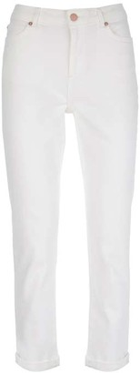 Mint Velvet Houston White Slim Jeans