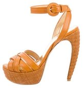 Walter Steiger Leather Platform Sandals