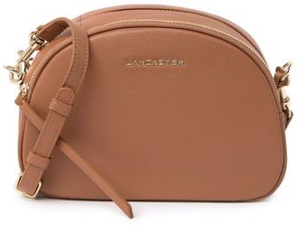 Lancaster Paris Leather Dome Crossbody Bag