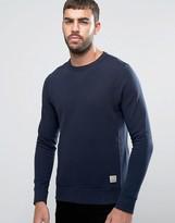 Jack and Jones Vintage Crew Neck Sweatshirt in Melange