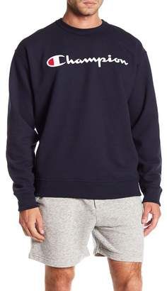 Champion Graphic Powerblend Crew Neck Pullover