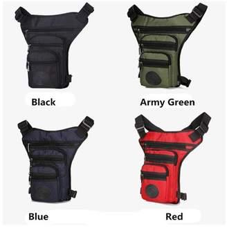 Kadell Waterproof Nylon Drop Leg Bag Fanny Waist Pack Thigh Belt Hip Bum Casual Shoulder Bag Military Motorcycle Riding Pouch