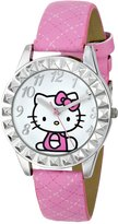 Hello Kitty Kids' HKAQ2801 Analog Display Analog Quartz Pink Watch