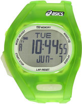 Asics Ar08 Night Run Unisex Green Strap Watch-Cqar0801y