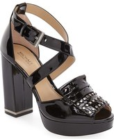 MICHAEL Michael Kors 'Lindy' Platform Sandal (Women)