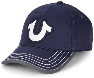 True Religion Puff Logo Baseball Cap