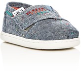 Toms Girls' Chambray Classic Flats