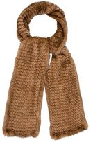 Cassin Knitted Mink Scarf