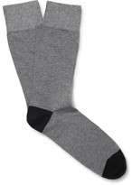 Corgi Two-Tone Cotton-Blend Socks