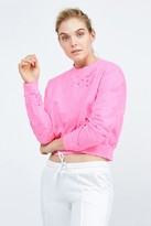 Cotton Citizen Milan Cropped Crewneck Sweatshirt