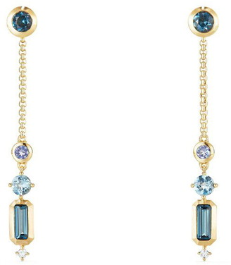 David Yurman Novella Drop Earrings with Diamonds