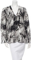 Parker Silk Printed Top w/ Tags