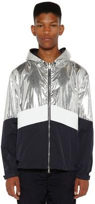 Moncler Quinic Laminated Nylon Jacket