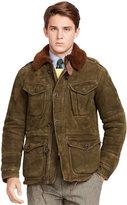 Ralph Lauren Shearling Combat Jacket