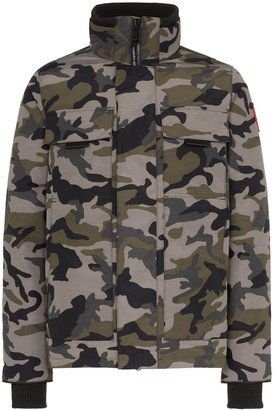 Canada Goose Forester camouflage-print padded jacket