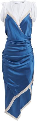 Alexander Wang Wrap T-Shirt Slip Dress