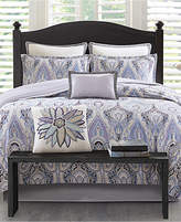 Echo Ivy Paisley Cotton Reversible 3-Pc. King/California King Duvet Cover Set Bedding