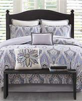 Echo Ivy Paisley Cotton Reversible 4-Pc. King Comforter Set