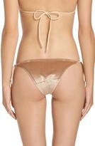 Frankie's Bikinis Women's Frankies Bikinis Knox Crushed Velvet Bikini Bottoms