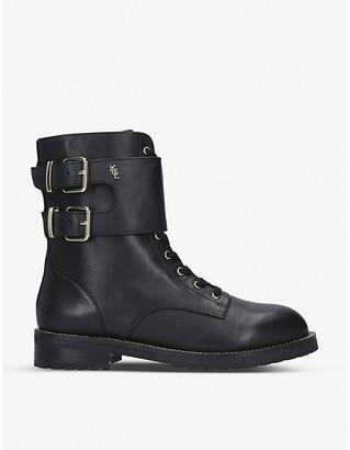Kurt Geiger Sutton leather biker boots, Size: EUR 35 / 2 UK WOMEN