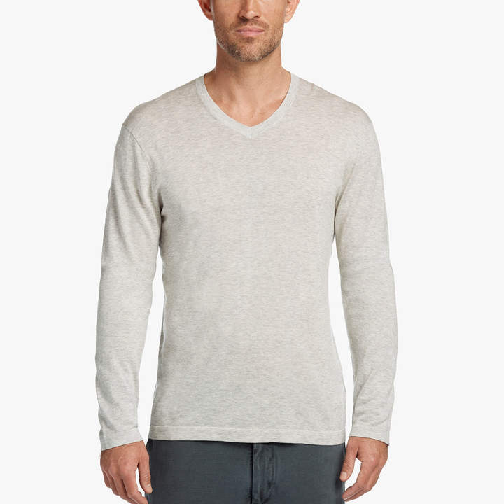 James Perse COTTON V-NECK SWEATER