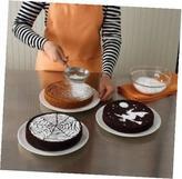 Martha Stewart Halloween Cake Stencils, Set Of 4: Skull & Crossbones, Spider
