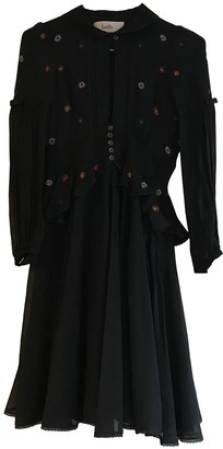 Luella Black Silk Dress for Women