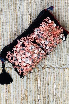 Bohemians Neon Wedding Blanket Clutch
