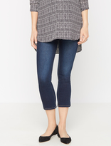 A Pea in the Pod Secret Fit Belly Boot Cut Maternity Crop Jeans