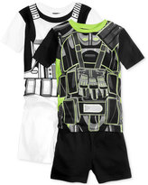Star Wars 4-Pc. Stormtrooper Uniform Cotton Pajama Set, Little Boys (2-7) & Big Boys (8-20)