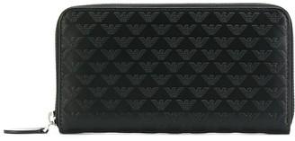 Emporio Armani Zipped Logo Wallet