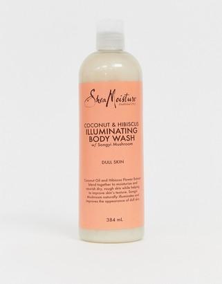 Shea Moisture coconut & hibiscus illuminating body wash 384ml