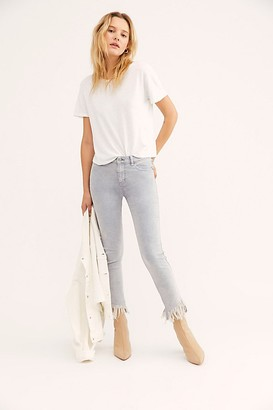 We The Free Great Heights Frayed Skinny Jeans