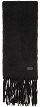 Saint Laurent Black Small Scarf